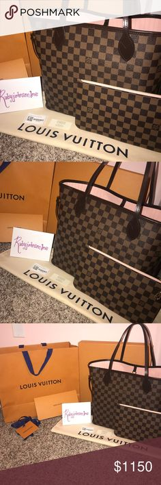 Louis Vuitton Neverfull MM Brand new Authentic Comes with dust bag and  pouch PLEASE READ ABOVE fd927d3e8aa41