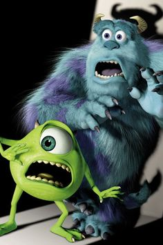 *MIKE & SULLEY ~ Monsters Inc., 2001