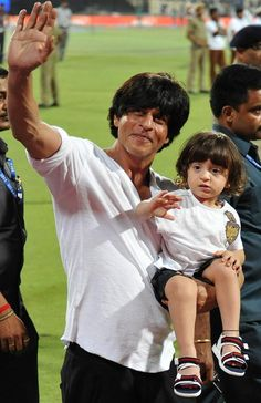 Everytime we come across Shah Rukh Khan's youngest son AbRam, we cannot stop awwing over him and his cute antics. The little boy has won millions of...