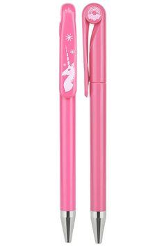 Un bolígrafo de unicornio que durará siete años.