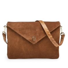 Hayley bag is perfect as your everyday bag with plenty of rooms! #leowulff #bag #cognac #suede