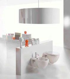 Sanitari sospesi - Easy Bath Vaso o Bidet  In pronta consegna al Magazzino della Piastrella e del Bagno: http://www.magazzinodellapiastrella.it/offerte-bagno-firenze.php #sanitari #bagno #vasobagno #bidetbagno #ristrutturacasa #casa #arredocasa