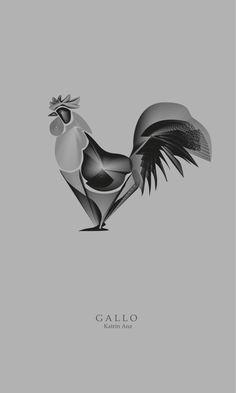 Gallo! Diseño Katrin Anz