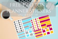 IamGeetha: Printables : Back to School Planner stickers - Two tone color stickers Diy Art, Diy Projects On A Budget, School Planner, Decoration, Planner Stickers, Back To School, Free Printables, Budgeting, Color