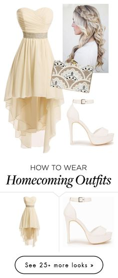 """Untitled #261"" by laurabolovaneanu on Polyvore featuring Nly Shoes and KOTUR"