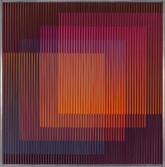 Carlos Cruz-Diez Physichromie Panam 167 2014...✖️Fosterginger.Pinterest.Com✖️No Pin Limits✖️More Pins Like This One At FOSTERGINGER @ Pinterest