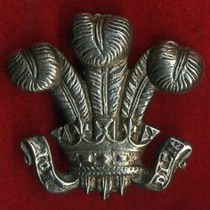 3rd Dragoon Guards Unmarked Silver Arm Badge