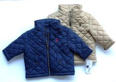 Ralph Lauren Polo Baby Boy Quilted Jacket in Clothing, Shoes & Accessories, Baby & Toddler Clothing, Boys' Clothing (Newborn-5T) | eBay