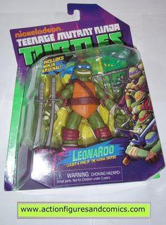 teenage mutant ninja turtles LEONARDO leo 2012 Nickelodeon tmnt moc mip mib playmates toys