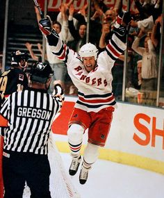 NY Rangers 1994 Stanley Cup win -- Nothing like it. Let's do it again, boys!