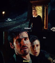 I love how she just busts in there, no idea where Hook is or what's happening to him, with no weapons, no back up, nothing. She just runs through the door haha.