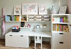 kleinkind zimmer Inspirational thoughts that we absolutely love! Baby Bedroom, Baby Boy Rooms, Little Girl Rooms, Baby Room Decor, Girls Bedroom, Playroom Layout, Ikea Kids Room, Ikea Toddler Room, Kids Rooms