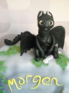 #Toothless - How To Train Your Dragon Cake