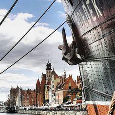 """love to explore 👀🚢🛳 #gdansk #rademertensgodanzig #danzig #welovetoexplore #passionpassport #travel #travelgram #travelblog #travelblogger #wanderlust #instatravel #instatrip #reiselust #reiseblog #reisen #reiseblogger #explore #instasky #view #fromwhereistand #vacay #holiday #harbour #hafen #potd #smile #iloveit"" by @curvyglam. #europe #roadtrip #여행 #outdoors #ocean #world #hiking #lonelyplanet #instalive #ilove #instalife #sightseeing #unlimitedparadise #tour #instamoment #instacool…"