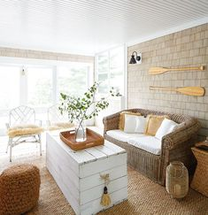 A key element to consider when decorating, natural light can make everything look better, brighter and more beautiful. Get bright and airy decorating ideas.