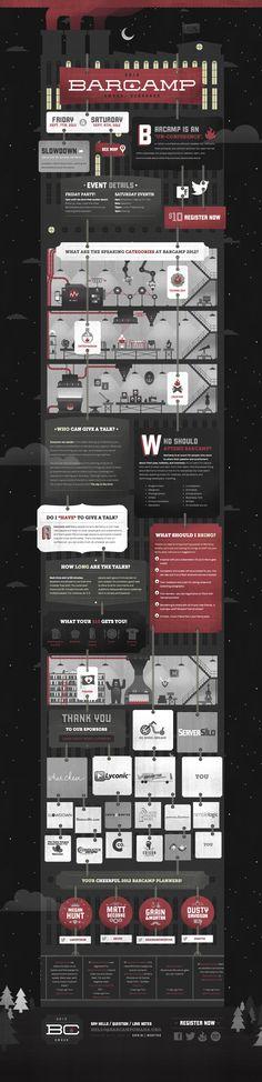 Unique Web Design, Bar Camp #WebDesign #Design (http://www.pinterest.com/aldenchong/)