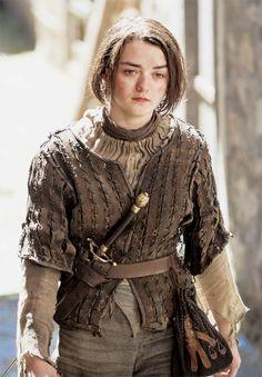 Arya Stark in Season 5, Episode 2 - The House of Black and White