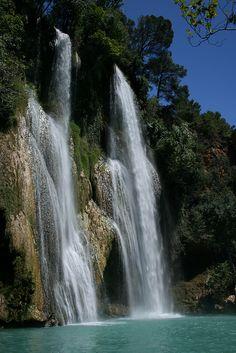 Sillans La Cascade in Haute-Provence, France