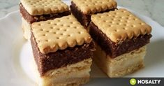 Hungarian Recipes, Hungarian Food, Tiramisu, Recipies, Cheesecake, Food And Drink, Yummy Food, Favorite Recipes, Sweets