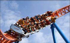 Fahrenheit roller coaster Hershey, PA