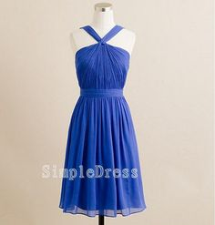 Beach Sleeveless Kneelength Chiffon Sashes Fashion by Simpledress, $60.00