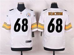 9761292e9 Nike Pittsburgh Steelers  68 Kelvin Beachum White Jersey