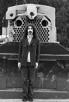 Frank Zappa near his home in Laurel Canyon, Los Angeles, May 1968.