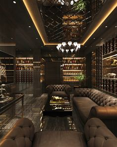 Cigar Room Cigar Room on Behance Cigar Lounge Decor, Cigar Lounge Man Cave, Bar Lounge, Man Cave Room, Man Cave Home Bar, Man Cave Living Room, Man Cave Basement, Home Bar Rooms, Whiskey Room