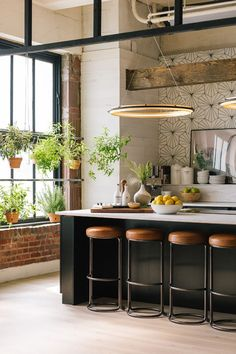 How to style a loft kitchen