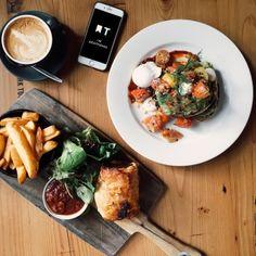 Beautiful & Tasteful, Melbourne, Victoria, Australia - Townske Melbourne Victoria, Victoria Australia, Melbourne Cafe, Bruschetta, Ethnic Recipes, Beautiful, Food, Cafes, Eten