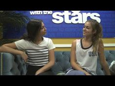 Sadie Robertson And Bethany Mota Talk About The Male Pros On DWTS | Pure Derek Hough