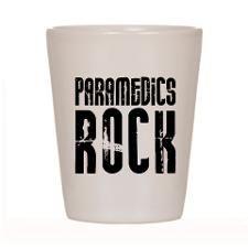Paramedics Rock Shot Glass