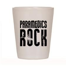 Paramedics Rock Shot Glass