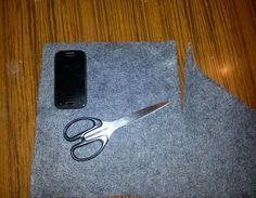 Zaczerpnij trochę inspiracji: Etui na telefon z filcu