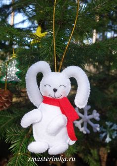 Excited to share the latest addition to my #etsy shop: Hare Felt doll Christmas tree toy Sewing PDF Pattern Felt Toy Soft Toy PDF Felt Pattern Instant Download Baby Sewing Pattern http://etsy.me/2iZ2YbM #materialy #ite #smasterimka #christmastreetoy #sewingpdfpattern