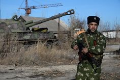 """Russia hit back Thursday against Western claims that it was sending fresh military hardware into eastern Ukraine which could fuel a return to all-out conflict. The Kremlin issued a fierce denial after NATO's commander in Europe accused Russia of sending columns of troops and equipment over the border. Ukraine said four of its soldiers had been killed in the past 24 hours and 23 wounded. """"According to our estimations, there are 8,000 Russian soldiers, maybe more, on our territory at the ..."""