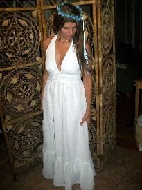 Hippie plus size wedding dress « Clothing for large ladies