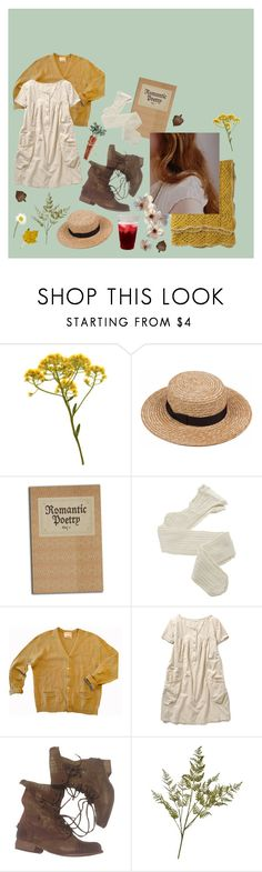 """Anne Shirley"" by private-school-bully ❤ liked on Polyvore featuring Fogal, Mustard Seed, CO, Steve Madden, November and Tema"