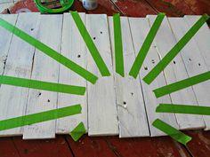 pallet art | pallet {word art} the space between