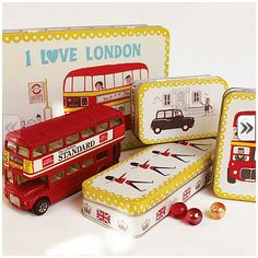 London Storage Tins