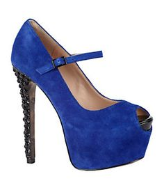 Betsey Johnson Belll Peep-Toe Pumps