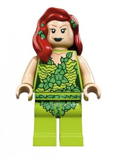 Poisin Ivy - Les super héros en #Lego