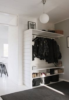 Entryways Without Closets: DIY Storage Projects + Ideas | Apartment Therapy