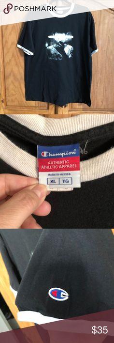 a6514472 Champion brand Porcupine Tree concert t-shirt Champion brand concert t-shirt  Champion Shirts