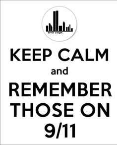..remember those on 9/11