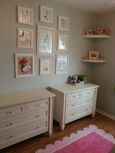 Abby and Sarah's princess bedroom