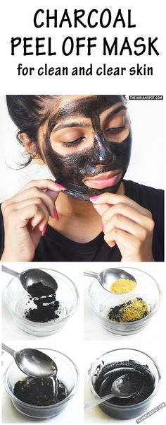 Activated Charcoal peel off mask been used effectively in the healing arts for centuries. Charcoal can do varied tasks because of its amazing ability to attract other . Organic Skin Care, Natural Skin Care, Natural Beauty, Beauty Care, Diy Beauty, Beauty Tips, Beauty Products, Beauty Quotes, Beauty Hacks