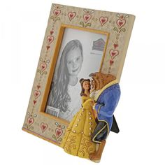 Enesco Disney Traditions Beauty and the Beast Frame Heart Patterns, Quilt Patterns, Disney Beast, Disney Traditions, Hanging Ornaments, Mothers Love, Disney Magic, Beauty And The Beast, Aurora Sleeping Beauty