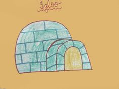 Igloo Easy Drawing for Kids