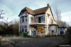 Ghost town Doel (Belgium)